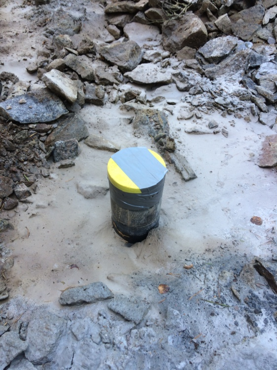 Valmis kaivo ennen pumpun asennusta